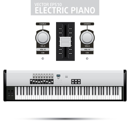 Simple Piano Claps illustration Vector