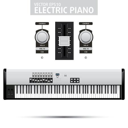 Simple Piano Claps illustration Stock Vector - 13437624