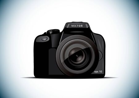 Picture camera illustration. business icon Vector
