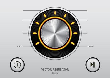 Button icon set illustration