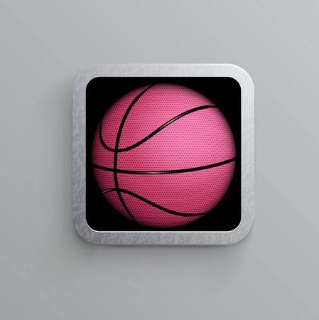 basketball goal black web icon Stock Vector - 15140303