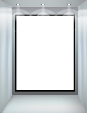 shop window: Shop window  Vector illustration