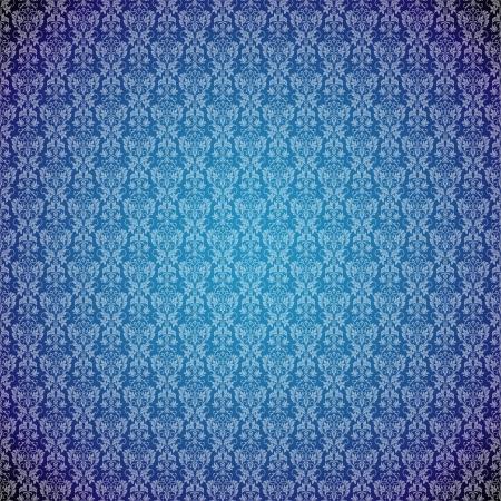 Seamless vintage background  Vector background for textile design.  Wallpaper, background, baroque pattern