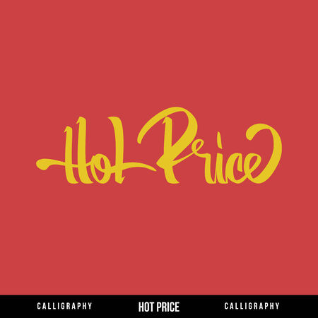 HOT PRICE Vector Lettering  Calligraphy for busines