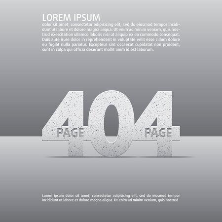 advisory: 404 error vector web page  Background