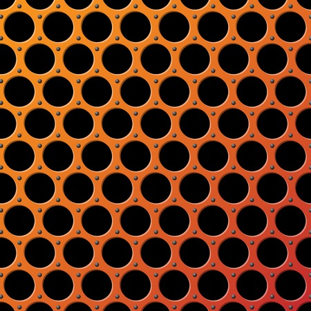 Vector Metal Grill Seamless Pattern background Illustration