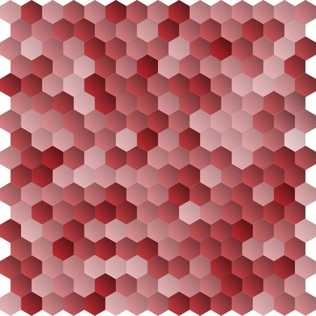 multifaceted: Seamless abstract hexagon background   Vector illustration Illustration