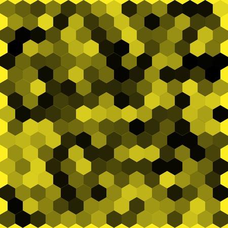 hexahedron: Seamless abstract hexagon background   Vector illustration Illustration