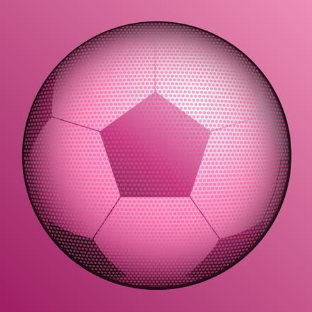 stylish conceptual  digital soccer vector design Illustration