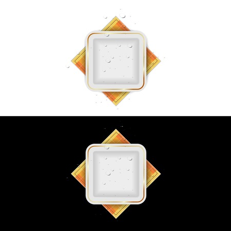 Home appliances web icons, light glossy buttons Illustration