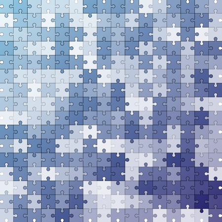 Seamless color puzzles  vector background Illustration