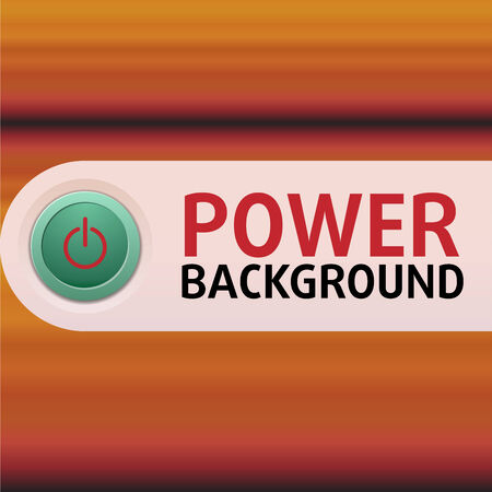 Power Button with color background