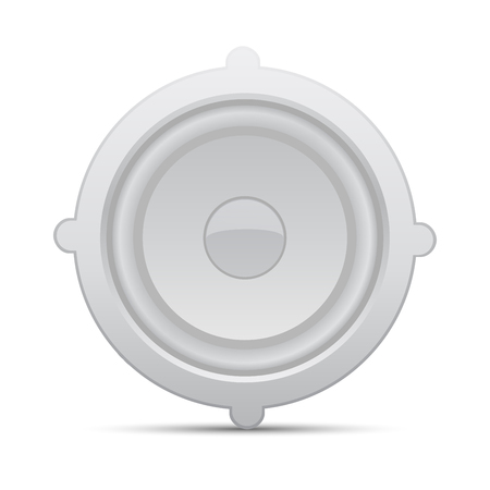 dolby: Icon loudspeaker vector   Audio loud speaker