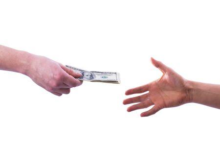 traslados: Uno transferencias de d�lares de mano de otro