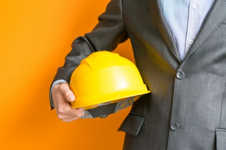 safety helmet: Safety work Stock Photo