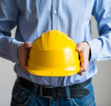 Safety work Stock Photo