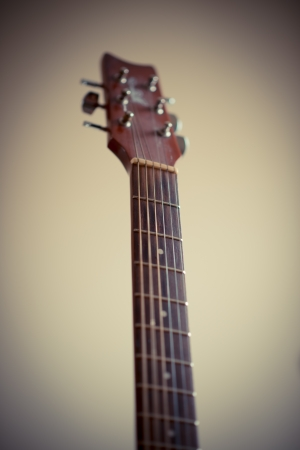 fretboard: neck of the guitar