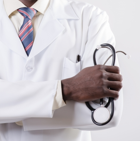 doctor with phonendoscope