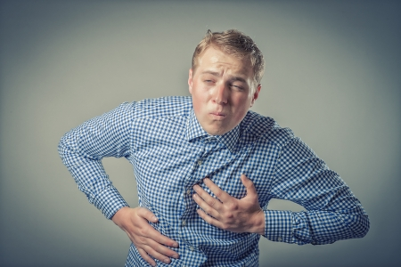 Businessman Heart Attack photo