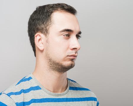 resentful: resentful man
