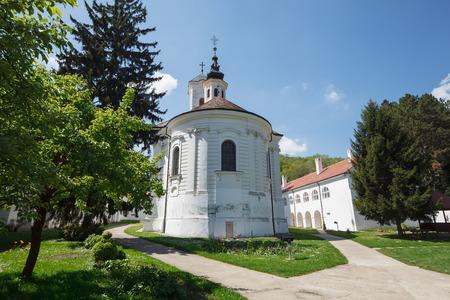 serb: Vrdnik, Ravanica monastery. Serb Orthodox monastery (1566) in Vrdnik in the Fru???ka Gora mountains, northern Serbia, province of Vojvodina.