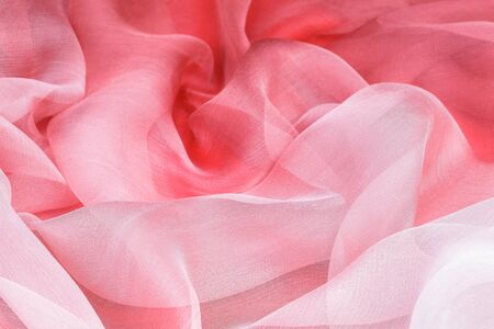 soft: elegant pink silk as background Stock Photo