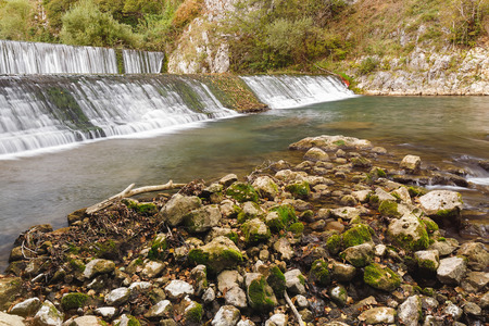 serbia: Waterfalls on Gradac river, Serbia