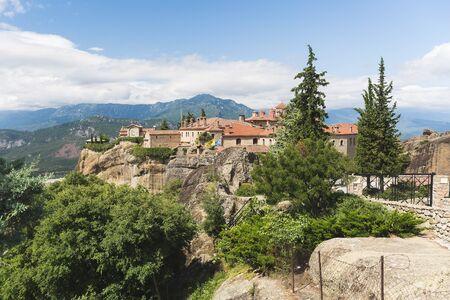 Meteora, Agios Stefanos,  St Stefan Monastery,  Trikkala, Greece. UNESCO World Heritage Site, Trikala, Greece