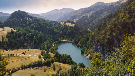 National Park Tara and lake Zaovine, Western Serbia