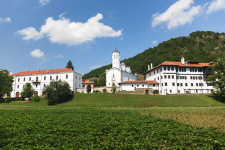 Saint Prohor of Pcinja Monastery, one of the oldest Serbian monasteries, 11th century 版權商用圖片