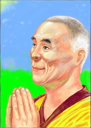 the Holy Dalai Lama XIV