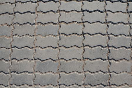 This picture shows a texture of tiled footpath