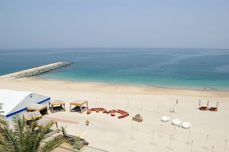 Place for a barbecue on the beach, Fujeirah,  United Arab Emirates photo