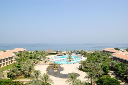 Vacation in resort in Dubai, United Arab Emirates