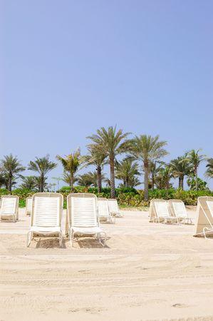 Beach of Atlantis the Palm hotel, Dubai,  United Arab Emirates photo