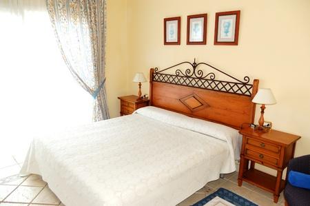 Apartment interior in the luxury hotel, Tenerife island, Spain
