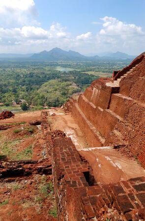 The view from Sigiriya (Lion photo