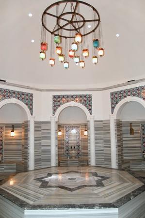 Turkish bath (Hamam) at hotels spa area, Antalya, Turkey