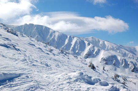 Free ride area in Jasna ski resort, Low Tatras, Slovakia Stock Photo - 12911359