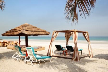 ajman: Beach of the luxury hotel, Ajman, UAE