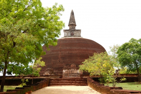 The Rankoth Vehera stupa in Polonnaruwa, Sri Lanka photo