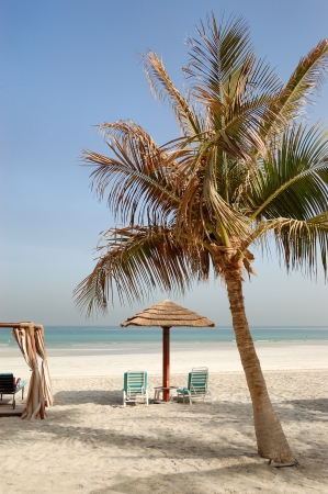 Playa del hotel de lujo, Ajman, Emiratos �rabes Unidos photo