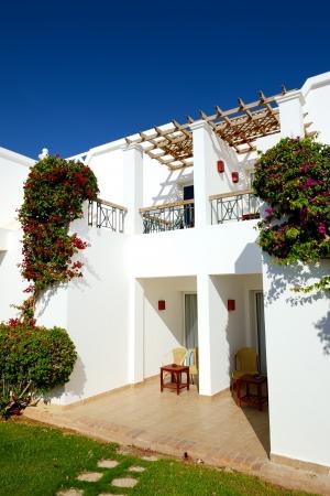 el sheikh: Villa decoration at the luxury hotel, Sharm el Sheikh, Egypt