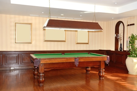 Poolroom in the luxury hotel, Sharm el Sheikh, Egypt