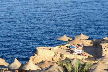 naama bay: Sunset at Naama Bay, Red Sea and beach, Sharm el Sheikh, Egypt
