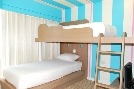 Kids room in apartment of the luxury hotel, Pattaya, Thailand Stock Photo - 19184039