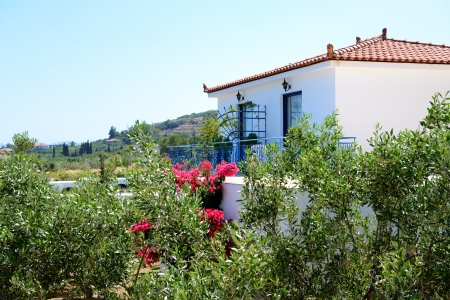 peloponnes: Traditional style villa at luxury hotel, Peloponnes, Greece