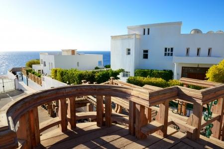 el sheikh: The luxury villas at shore, Sharm el Sheikh, Egypt Editorial