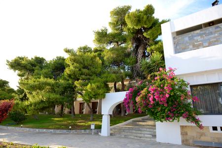 peloponnes: Villas at luxury hotel, Peloponnes, Greece