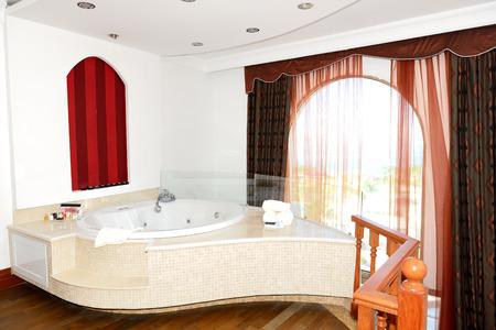 Luxury apartment with jacuzzi bathroom, Bodrum, Turkey